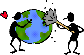 Cleaning the Earth